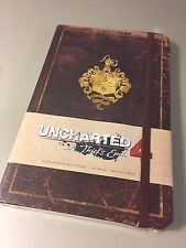 Uncharted 4 Drake's Journal Notepad Notebook - A Thief's End - 192 Ruled Pages