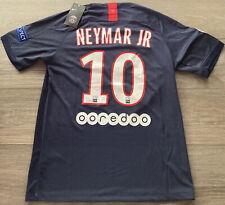 Neymar JR #10 Paris Saint Germain Home Soccer Jersey Men's Football Small NWT
