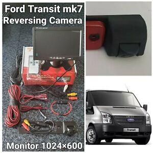 Ford Transit Mk7  Reversing Camera Kit 2006-2014 Monitor 7inch 1024×600