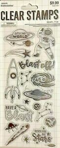 STAMPABILITIES CLEAR STAMPS ~GALACTIC CODE 1828078