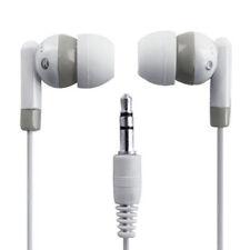 3.5mm Mini In-Ear Earpiece Earbud Headphone Earphone for Apple iPod White
