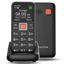 Easyfone Prime-A5 Telefono Cellulare per Anziani con Tasti Grandi, (E3h)