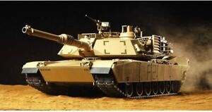 Tamiya 1/16 RC Tank Series No.40 American M1A2 Abrams Tank Full Operation Set