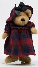 """Boyds Bear 10"""" in Elsbeth Evelyn Jointed Plush Bear Nwt"""