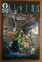 Aliens #1 second printing original 1988 Dark Horse Comic Book 2nd print Marvel