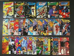 Run of (29) Flash (1987-91) #1-71 + Annuals DC Comics StoreStock MoreListed