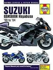 Suzuki GSX1300R Hayabusa Repair Manual 99-04 NEW Owners Book Shop Service
