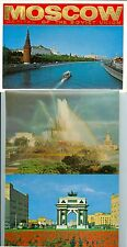 Moscow Capital of The Soviet Union 18 postcard packet