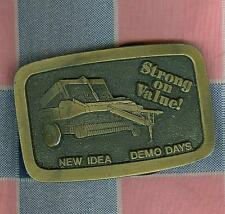 Belt Buckle Spec Cast Inc. New Idea Demo Days Stong on Value!  Farm Machinery