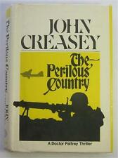 PERILOUS COUNTRY JOHN CREASEY 1973 WALKER 1ST US ED DJ DR PALFREY EX-LIBRARY