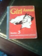 Girl Annual Number 3, An Eagle Book, Published 1952, Vintage Book