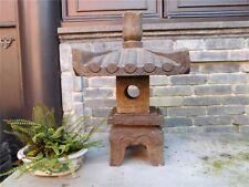 Steinfigur Steinlaterne Pagode Gartenlicht Naturstein s105