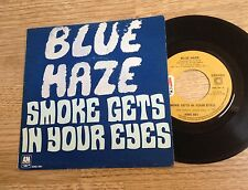 # 45 tours Blue Haze Smoke gets in your eyes / Anna Rosanna 1972 EXC