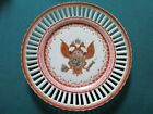 Imperial coat of arms  RUSSIA 18TH C double headed eagle Chinese porcelain PLATE