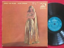 JULIE LONDON ~ ABOUT THE BLUES (1957) ORIGINAL MONO LP ~ LRP 3043 ~ VOCAL JAZZ