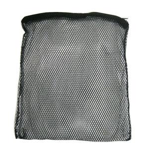 Filter Media Bags Black Coarse 4mm holes with Zip Aquarium / Pond Use 2 Sizes