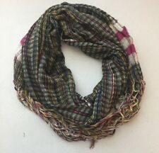 (NWT) Collection XIIX Women's Multi-Colored Woven Stripe Scarf ONE SIZE
