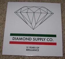 """DIAMOND SUPPLY CO 4"""" Brilliance Skate Sticker Logo skateboards helmets decal"""