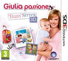 Giulia Passione Baby Sitter 3D Nintendo 3DS IT IMPORT UBISOFT