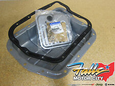 Dakota Durango Grand Cherokee Transmission Pan, Filter & Gasket Kit Mopar OEM