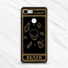 Witch Tarot Occult Death Card Horror Cover Case For Google Pixel 4 3A 3 2 1 XL