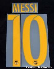Barcelona Messi 10 2016-17 Football Shirt Name/Number Set Home Sporting ID Adult