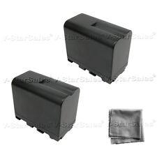 2X NP-F970 NPF970 Battery + BONUS for Sony CCD-TR940 TR930 TR910 TR67 TR818