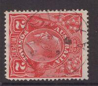 Tasmania LIFFEY type 1 postmark on  2d KGV rated S by Hardinge