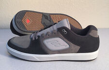 NWOB Emerica The Reynolds G6 Sneakers Black/Gray Men's Suede Skating Shoes-Sz 14