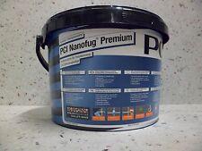 PCI Nanofug Premium 5 kg gris plata Flexfuge para todos Baldosas y