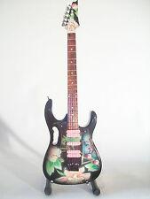 Guitare miniature Ibanez JEM flower cut Steve VAI
