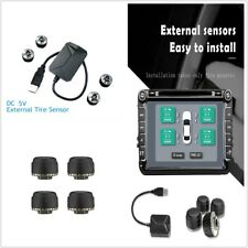 NEW TPMS With USB Connector Monitoring System For 4 wheels Sedan/Hatchback/Truck