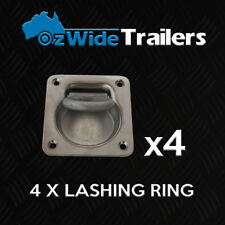 4 X LASHING RING TIE DOWN POINT ANCHOR UTE TRAILER