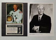 Buzz Aldrin Signed Book Signing Advertisement Photo NASA Apollo 11 Astronaut