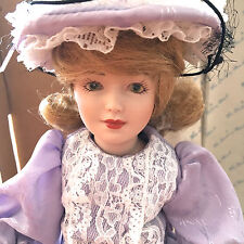 """Danbury Mint The Story Book Doll Collection """"Little Bo Peep"""" 1988 Box and COA"""