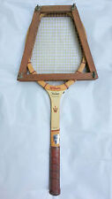 Tennis Racket Jack Kramer Wilson Autograph mOdel Rare 1970s Vintage Wooden