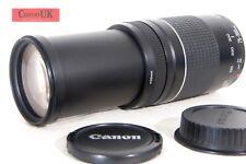 75-300 mm Canon EF mkIII Teleobiettivo Zoom * per tutti i Canon reflex digitali * * gratis P & p *