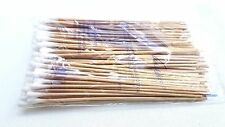 "500 Cotton Swabs Applicator w/ Long Wood Handle Q-tip  6"" Non Sterile 5 100/bag"