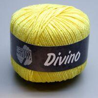 Lana Grossa Divino 041 limelight 50g Wolle (9.90 EUR pro 100 g)