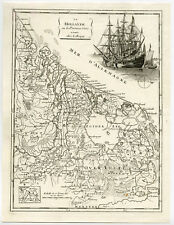 Antique Print-HOLLAND-NETHERLANDS-BELGIUM-AMSTERDAM-UTRECHT-Le Rouge-1756