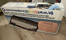 Commodore Plus 4 NEW in original packaging and warranty sealed