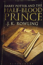 BOOK 6 ADULT ED HARRY POTTER AND THE HALF BLOOD PRINCE J.K ROWLING PAPERBACK