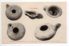 ALESIA pro-alésia CPA 21 fouilles gallo-romaines lampes gallo romaines Mt auxois
