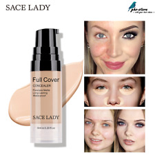 SACE LADY  6 Colors Liquid Concealer Makeup 6ml Eye Dark Circles Cream Cosmetic