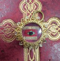 relic reliquary reliquiario CANONICO LUIGI BOCCARDO  reliquia relicario shrine