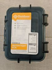 New Outdoor Products Watertight Box Small Blue Gray Protects Gear 28.4 FL OZ