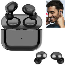 Wireless 5.0 Bluetooth Earbuds Stereo Headset with Charging Case for Samsung LG