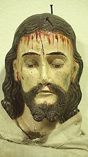 Catholic Antique Santos Holy Penitent Statue of the body of Jesus Christ Passion