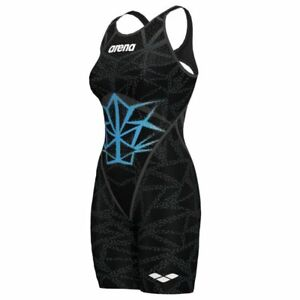 Women's Powerskin Carbon Core FX Open Back Swimming Race Suit - BISHAMON - FINA