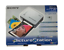 Sony Picture Station DPP-FP30 Compact Digital Photo Printer Tested Working